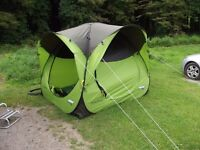 Pop up day tent from decathalon / awning / caravan