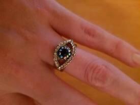 Butler amd Wilson evil eye ring