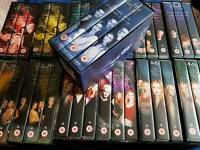 All 13 boxsets of buffy the vampire slayer on VHS