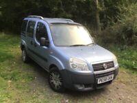 Fiat, DOBLO, MPV, 2008, Manual, 1248 (cc), 5 doors
