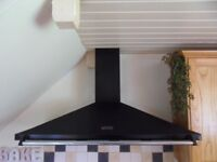 Rangemaster Cooker Hood, Black, 110cm wide