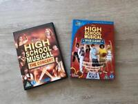 High School Musical concert dvd plus dvd game