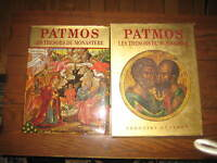 A unique art book on TREASURES OF THE MONESTERY (PATMOS)