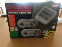 Brand New Super Nintendo Mini