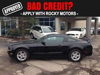 2014 Ford Mustang V6 $89.65 A WEEK + TAX OAC - BAD CREDIT APPROV