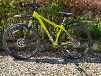 Mens Voodoo Bizango 29er Mountain Bike - Like New. Only ridden twice. Excellent condition.