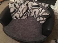 Cuddle chair Snuggle chair Swivel Chair