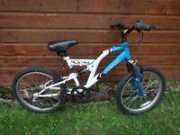 Vertigo etna bike suit age 9 to 12 years , 24 inch wheels, working order