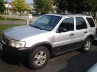 2002 FORD ESCAPE FULLY LOADED SUNROOF LEATHER SEAT FOG LIGHT