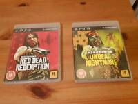 PS3 Red Dead Redemption bundle