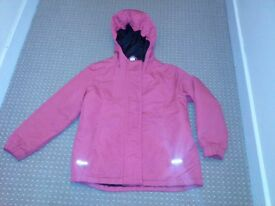 6-7 years girls rain jacket in excellent condition