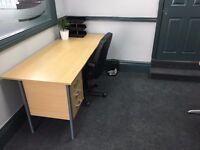 Long and Short Desk Rental Opportunity