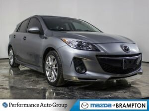 2013 Mazda MAZDA3 GT. ROOF. BLUETOOTH. HTD SEATS. ALLOYS