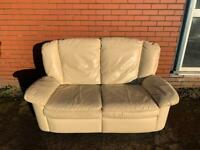 Real leather reclining sofa FREE delivery 🚚 sofa suite couch furniture