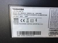 32'' Toshiba TV plasma, full 1080 HD