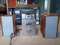 Goodmans HiFi system with Radio and CD Player