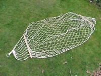 Cotton mesh hammock