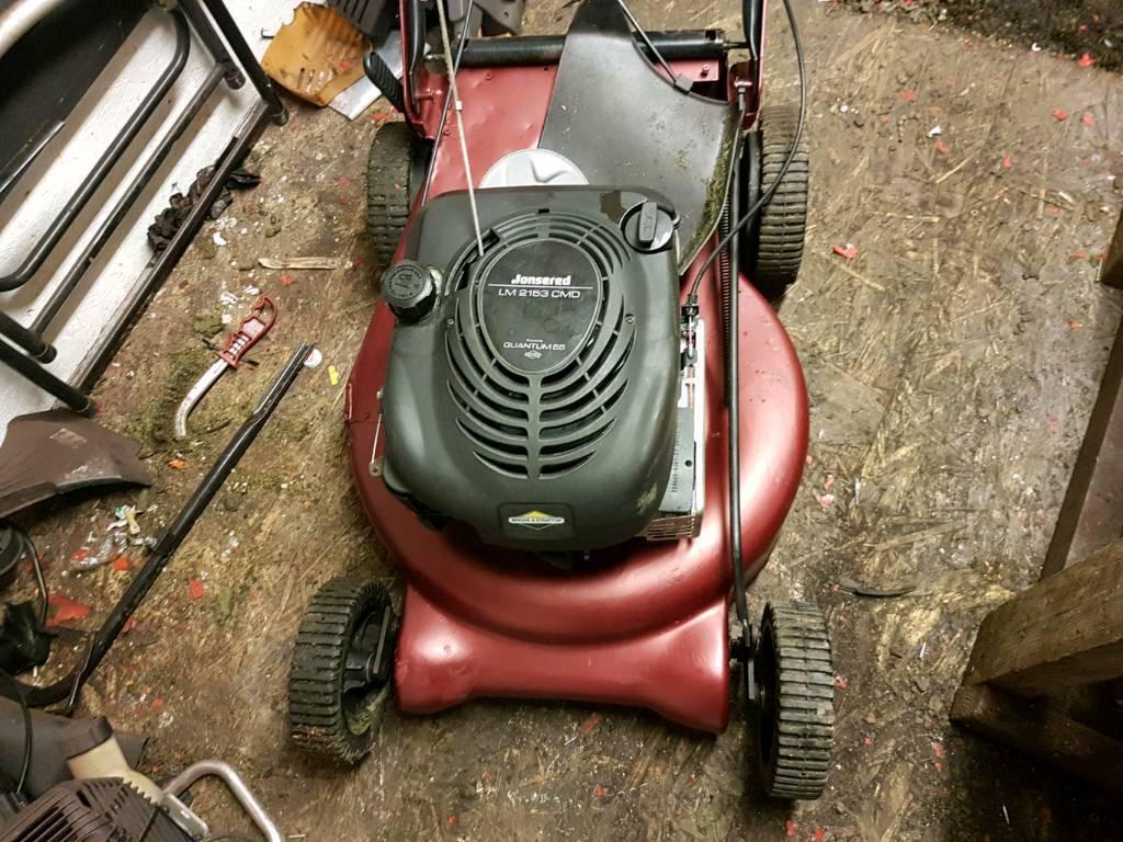 Jonsered self proppeled petrol lawnmower | in Dunfermline ...