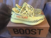 1e8c33d7ca62f Worn Yeezy Boost 350 V2 Frozen Yellow UK size 7 with box
