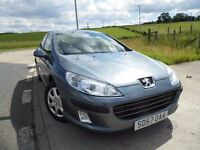 PEUGEOT 407 1.6 S HDI 4d 108 BHP 6 Months Parts & Labour Warranty Years MOT Included