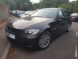 BMW 318i Estate Black Low Mileage