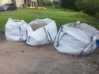 3 Bags Of Gravel (20mm Washed Pipe Bedding)
