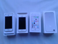 2 x APPLE I PHONE 5s EE Complete in Original boxes