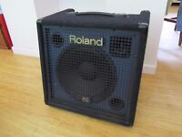 Roland KC 350 Keyboard 4 Ch Combo Amp 120W and cover