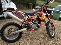 Ktm 450 Exc Enduro very clean!!! Swap for van