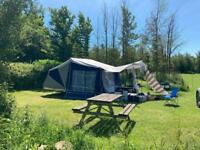 Camplet 2016 folding camper trailer tent