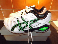 Brand New unused ASICS GEL-SENSEI 4 Indoor Court Shoes. UK size 10.
