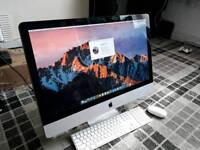 "Apple iMac 27"" QUAD CORE I5 2.66GHz 8GB ram 1TB Hard drive Logic Pro X"