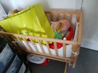 Baby Crib with Mattress for sale
