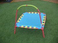 Childrens unisex trampoline