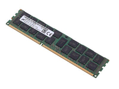 Micron 16GB RAM Arbeitsspeicher DDR3 PC3-14900R ECC 240Pin RDIMM DDR3 SDRAM D... ()