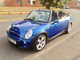 2005 05 Mini Cooper S CONVERTIBLE 1.6 NEW TIMING CHAIN FSH WARRANTY/DELIVERY/CARDS PX !!!