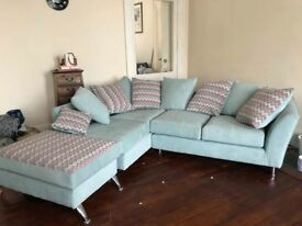 Beautiful retro corner sofa