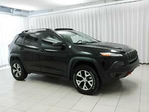 2016 Jeep Cherokee FEAST YOUR EYES ON THIS BEAUTY!! TRAILHAWK 4x