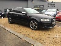 2010 Audi A3 sport back 2.0 tdi dsg s-line BLACK EDITION ..... P/X WELCOME