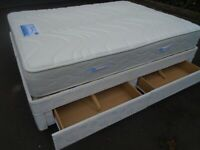SEELY BRAND KING-SIZE BED at Haven Trust's charity shop at 247 Radford Road, NG7 5GU