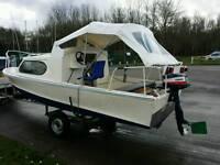 Shetland 535 Yamaha Outboard