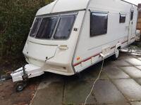 ABI 4 / 5 berth touring caravan + awning + ready to go !