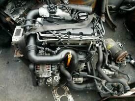 VW GOLF 1.9TDI BXE ENGINE