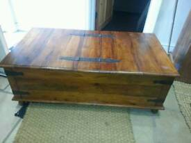 Sheesham cabinet /coffee table