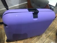 2 x soft Antler and 1x lilac Carlton suitcase FREE