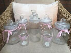 Candy cart jars - wedding/birthday