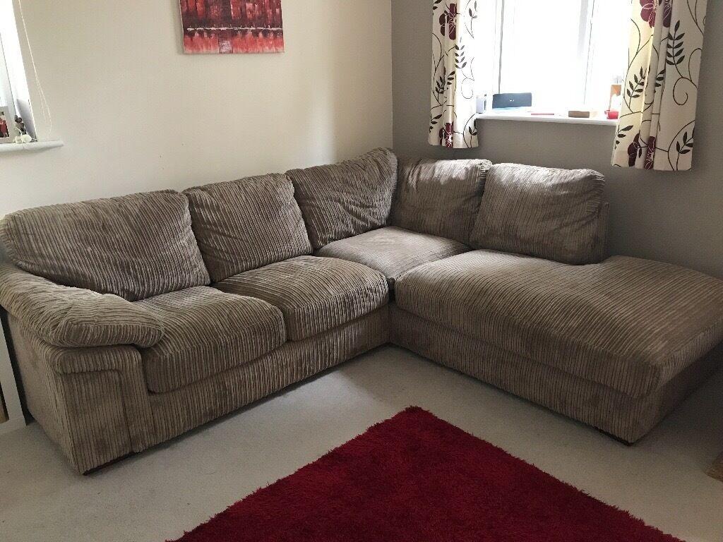 Cargo Sienna Corner Sofa With Bed Mink