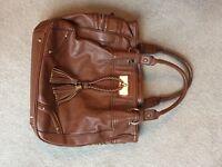Leather Tan handbag
