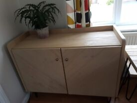 Lovely Next dining table with 2 benches and sideboard