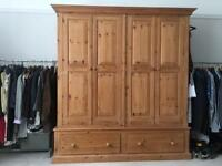 Solid pine BIG wardrobe